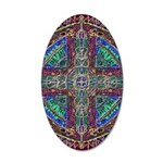 Hyperdoodle 1 20x12 Oval Wall Decal