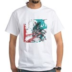Crazy by Voln White T-Shirt