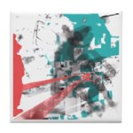 Crazy by Voln Tile Coaster