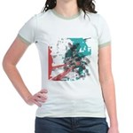 Crazy by Voln Jr. Ringer T-Shirt