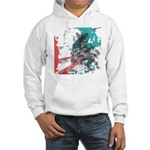 Crazy by Voln Hooded Sweatshirt