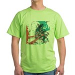 Crazy by Voln Green T-Shirt