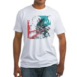 Crazy by Voln Fitted T-Shirt