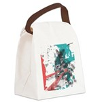 Crazy by Voln Canvas Lunch Bag