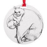 bIG mONSTER Round Ornament
