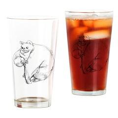 bIG mONSTER Drinking Glass