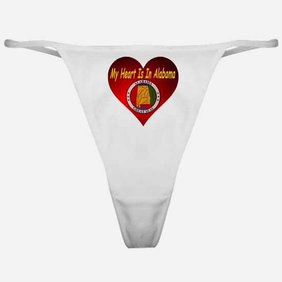 My Heart Is In Alabama Classic Thong