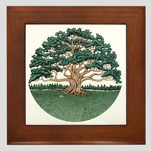The Wisdom Tree Framed Tile