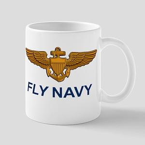 Navall Aviator Wings Mug