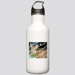 CUSTOMIZE With Your Pet Photo Water Bottle