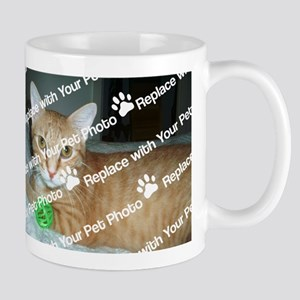 CUSTOMIZE With Your Pet Photo Mugs