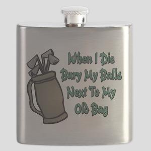 When I Die Flask