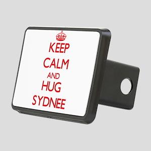 Keep Calm and Hug Sydnee Hitch Cover