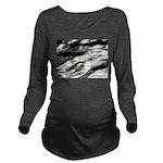 Flow Long Sleeve Maternity T-Shirt