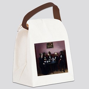 Dapper Dogs Canvas Lunch Bag