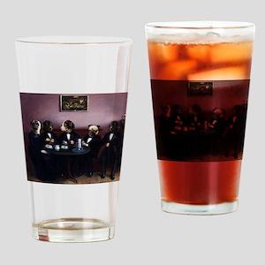 Dapper Dogs Drinking Glass