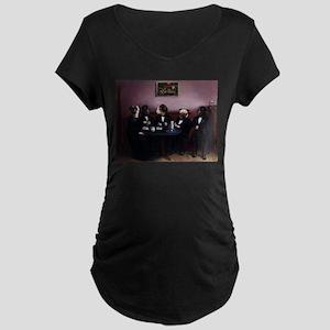 Dapper Dogs Maternity T-Shirt