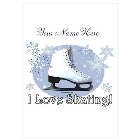 Figure Skating Invitations And Announcements CafePress