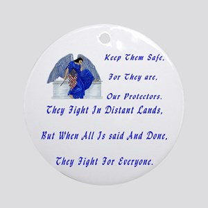 keep them safe Ornament (Round)