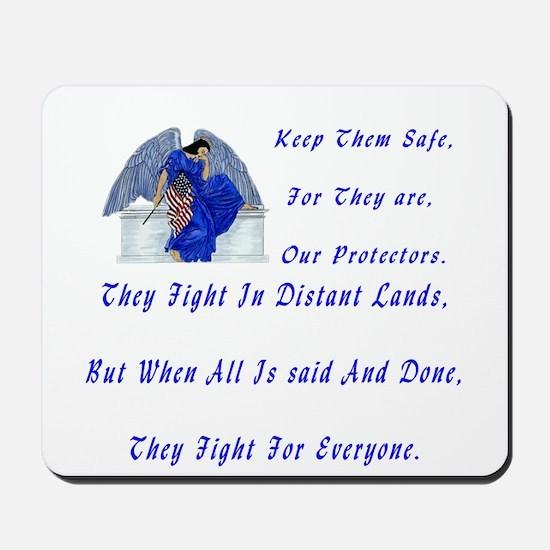 keep them safe Mousepad