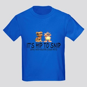 Hip To Snip Kids Dark T-Shirt
