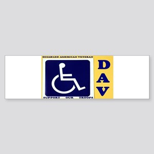Disabled American Veteran Bumper Sticker