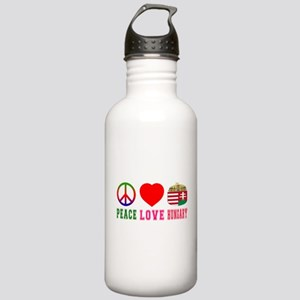 Peace Love Hungary Stainless Water Bottle 1.0L
