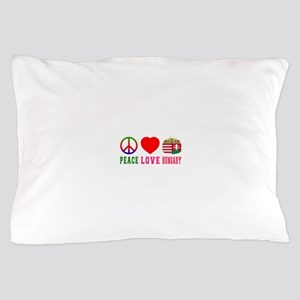 Peace Love Hungary Pillow Case