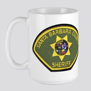 Santa Barbara County Sheriff Large Mug