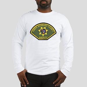 Santa Barbara County Sheriff Long Sleeve T-Shirt