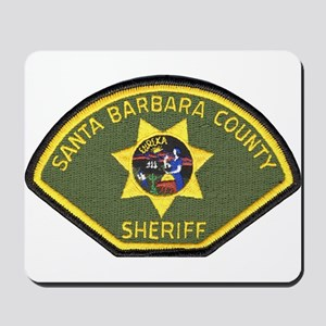Santa Barbara County Sheriff Mousepad