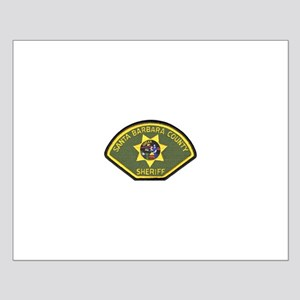Santa Barbara County Sheriff Small Poster
