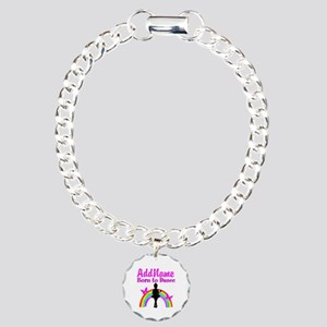 LOVE DANCING Charm Bracelet, One Charm