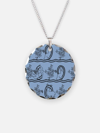 Alice in Wonderland dress Necklace