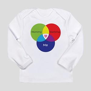 Mommy+Momma Long Sleeve T-Shirt