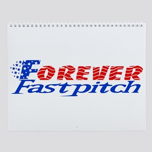 Forever Fastpitch Wall Calendar