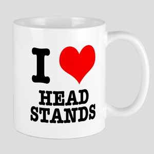 I Heart (Love) Headstands Mug