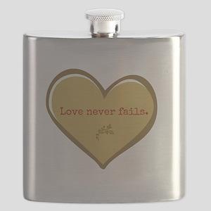 Love never fails Flask