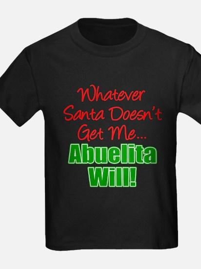 Abuelita Santa Will T-Shirt