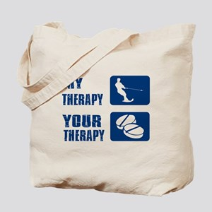water ski is my Therapy Tote Bag