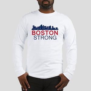 Boston Strong - Skyline Long Sleeve T-Shirt