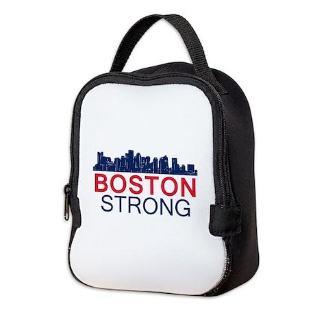 Boston Strong - Skyline Neoprene Lunch Bag