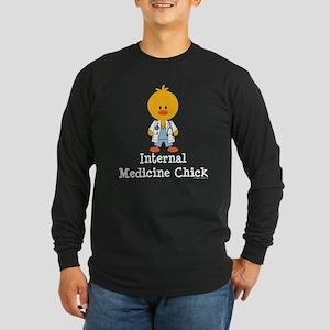Internal Medicine Chick Long Sleeve T-Shirt