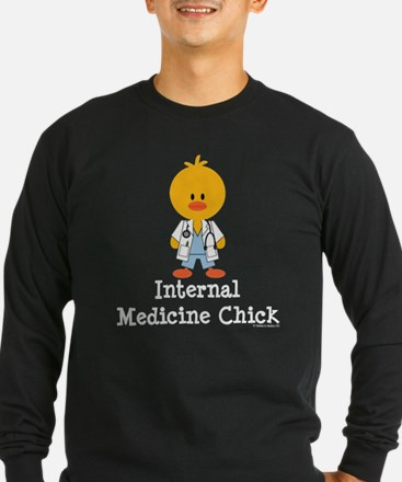 Internal Medicine Chick Long Sleeve T-Shirt