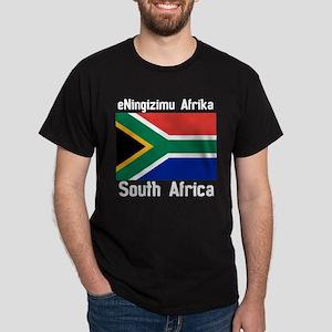 eNingizimu Afrika Dark T-Shirt