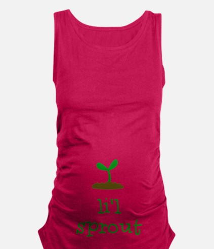 Lil Sprout Maternity Tank Top