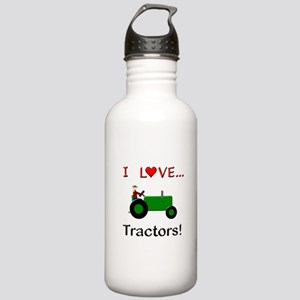I Love Green Tractors Stainless Water Bottle 1.0L