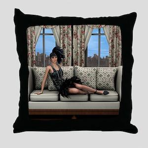 Roaring Twenties Throw Pillow