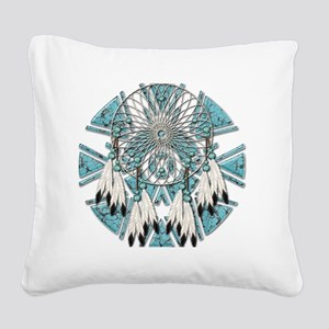 Dream Catcher Square Canvas Pillow