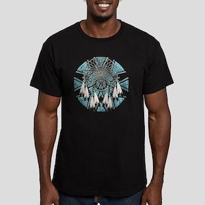 Dream Catcher Men's Fitted T-Shirt (dark)